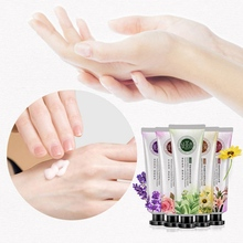 Plant Essential Oil Hand Cream Hydrating Anti-drying Smooth Fine Lines
