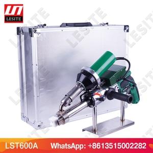 Image 5 - Plastic extrusion welding gun plastic extrusion welder PP HDPE hand welding extruder hand extruder LESITE LST600A
