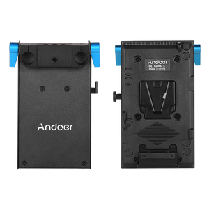 Image 3 - محول لوحة البطارية Andoer V Mount V lock لكاميرات BMCC BMPCC Canon, 5D2/5D3/5D4/80D/6D2/7D2 مع محول بطارية وهمي
