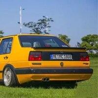 Uso para volkswagen jetta mk2 spoiler 1994 -- 2002 ano frp asa traseira abt estilo acessórios do carro montagem
