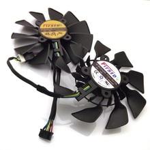 FD9015U12S FD10015H12S 12V 0.55A 95mm For ASUS GTX780 GTX780TI R9 280 290 280X 290X 380 Graphics Card Cooling Fan
