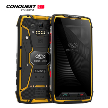 Get more info on the Conquest S11 IPS Android 7.0 4G Smartphone IP68 Waterproof 6GB 128 GB Mobile Phone 7000mAh POC NFC Cellphone MT6757V Octa Core