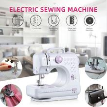 portable multifunction desktop mini electric sewing machine with light cutter small household appliances eat thick needle feed Single Needle Portable Electric Sewing Machine Mini Automatic Small Multifunctional Hand-Held Sewing Machine Home 7.2W Desktop