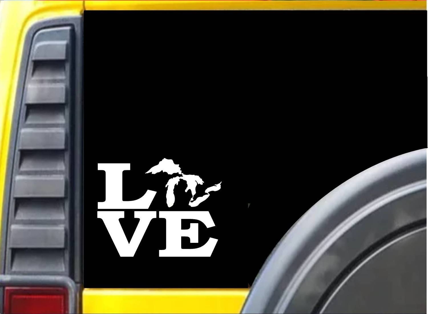 Love GREAT LAKES Sticker 6