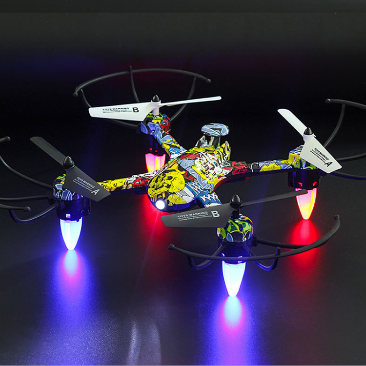 Toy Drone H235 Set High Remote Control Aircraft Drop-resistant Children Unmanned Aerial Vehicle Aerial Photography Quadcopter