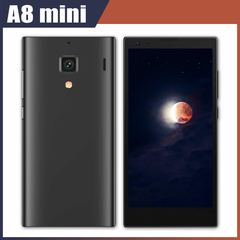 4G LTE Smartphones A8 Mini Téléphones Portables 1GRAM + 8GROM Quad Core MTK Android Téléphone 4.7 pouces Écran 8MP Celulars A8mini Téléphones Mobiles