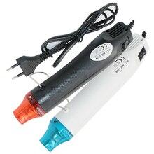 Mini opalarka 110/220V 300w moc Mini Hot wiatrówka lekki uchwyt elektryczny, gorący termokurczliwy DIY tłoczenie i suszenie farby