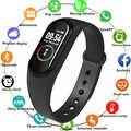 Yeni M4 akıllı bant 4 spor izci izle spor bilezik kalp hızı kan basıncı Smartband monitör sağlık bileklik Smartwatch