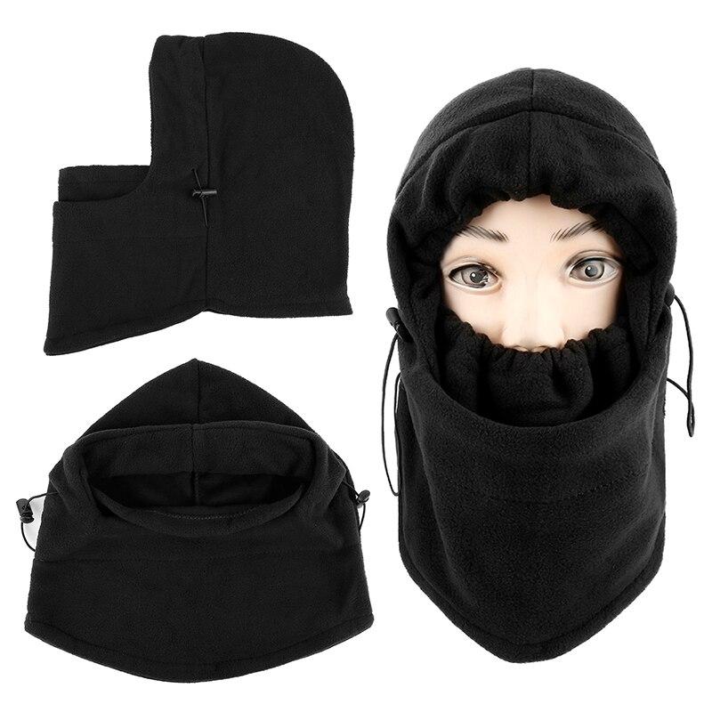 Зимняя Теплая Флисовая Балаклава, шапка с капюшоном, теплая велосипедная маска для лица, Спортивная маска для лица для мужчин, маска для вел...