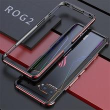 Dành cho ASUS ROG 2 ROG2 Ốp Lưng Khung Kim Loại Màu Đôi Nhôm Ốp Lưng Bảo Vệ dành cho ASUS ROG Điện Thoại II Ốp Lưng