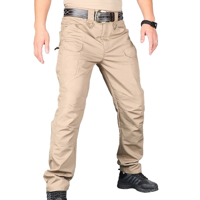 Fashion Men 2019 Camping Cargo Pants Pockets Military Pantalones Hombre Waterproof Jogger Tactical Pants Solid Outdoor Trousers Cargo Pants Aliexpress