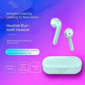 Image 2 - L8 tws mini fones de ouvido sem fio à prova dhd água hd mic redução ruído para xiaomi huawei iphone bluetooth