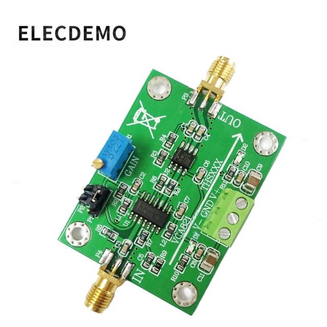 VCA821 モジュール調整可能な利得アンプ THS3201 200 メートル帯域幅 40dB 利得出力負荷