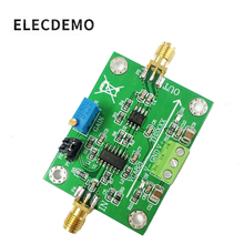 VCA821 وحدة مكبر للصوت مكاسب قابل للتعديل THS3201 200 متر عرض النطاق الترددي 40dB كسب الإخراج مع الحمل