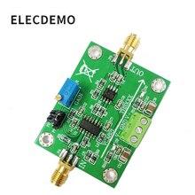 Модуль VCA821, усилитель с регулируемым коэффициентом усиления THS3201, полоса пропускания 200 м, выход с усилением 40 дБ и нагрузкой