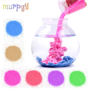 100g Not Wet Magic Sand For Kids Toys Colorful Mars Space Sand Slime Indoor Play Educational Funny Toy For Children Kids Gifts(China)