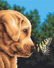 Love.Thanks Animal Dimond Painting Pet Dog Diamond 5D Cross Stitch Kit Art Kits