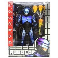 Фигурка NECA Robocop из серии «робокоп» высокого качества, 18 см, модель из ПВХ, игрушка 2, боевая, поврежденная и огнемет для коллекции фанатов