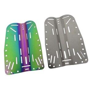 Image 1 - Placa traseira de mergulho de pouco peso bcd arnês de mergulho