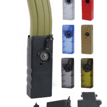 Hand-Crank Magazine Bullet-Clip Military-Adaptor Speed-Loader MP5 BB Paintball Tactical Airsoft