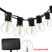 Hot 10/25LED Zonne verlichting Voor Tuin Decoratie Clear Lampen Led String Lights Outdoor Holiday Christmas Party Wedding Waterdicht