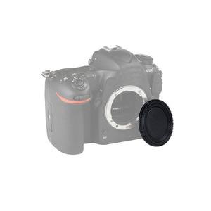 Image 3 - 50Pairs camera Body cap + Rear Lens Cap Hood Protector voor nik & n SLR/DSLR
