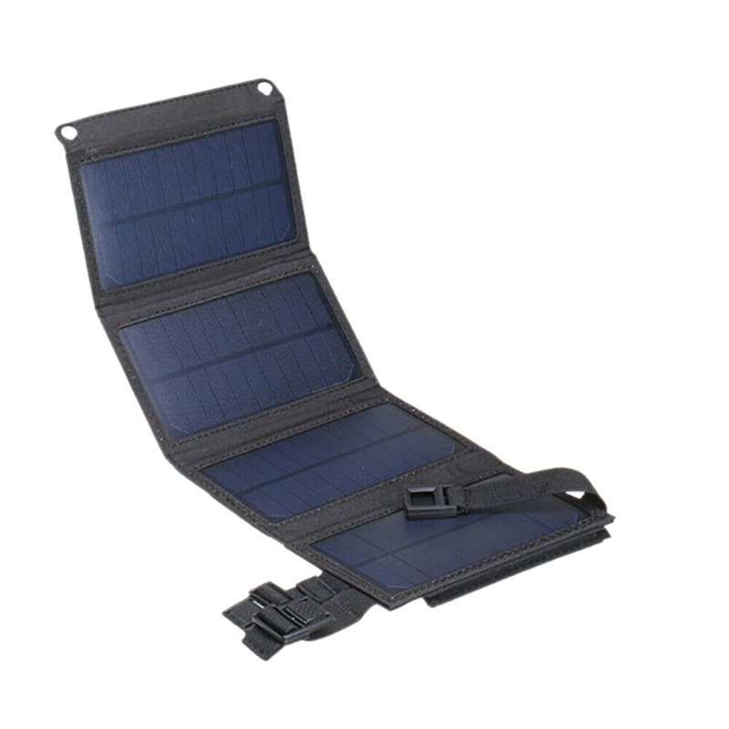 Sun Power Folding Solar Cells Charger 20W USB Solar Panel Folding Power Bank Outdoor Camping Hiking Battery Charger Portable