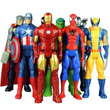 30cm 12 #8221 Marvel Avengers zabawki Hulk Thanos Wolverine Venom Iron Man kapitan ameryka Thor Spiderman figurka lalki dla dzieci prezent tanie tanio Disney Model CN (pochodzenie) Unisex With original box Pierwsze wydanie 3 lat Wyroby gotowe A1517 Zachodnia animiation