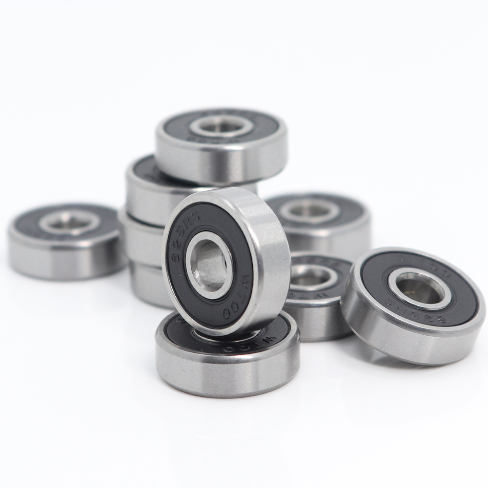 625-2RS Bearing 5x16x5 Mm 10PCS Miniature 3D Printer Parts Accessories Wheel 625RS Ball Bearings 625 2RS