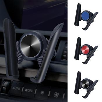Universal 360 Degree Adjustable Car Air Vent Gravity Phone Stand Cradle Holder image