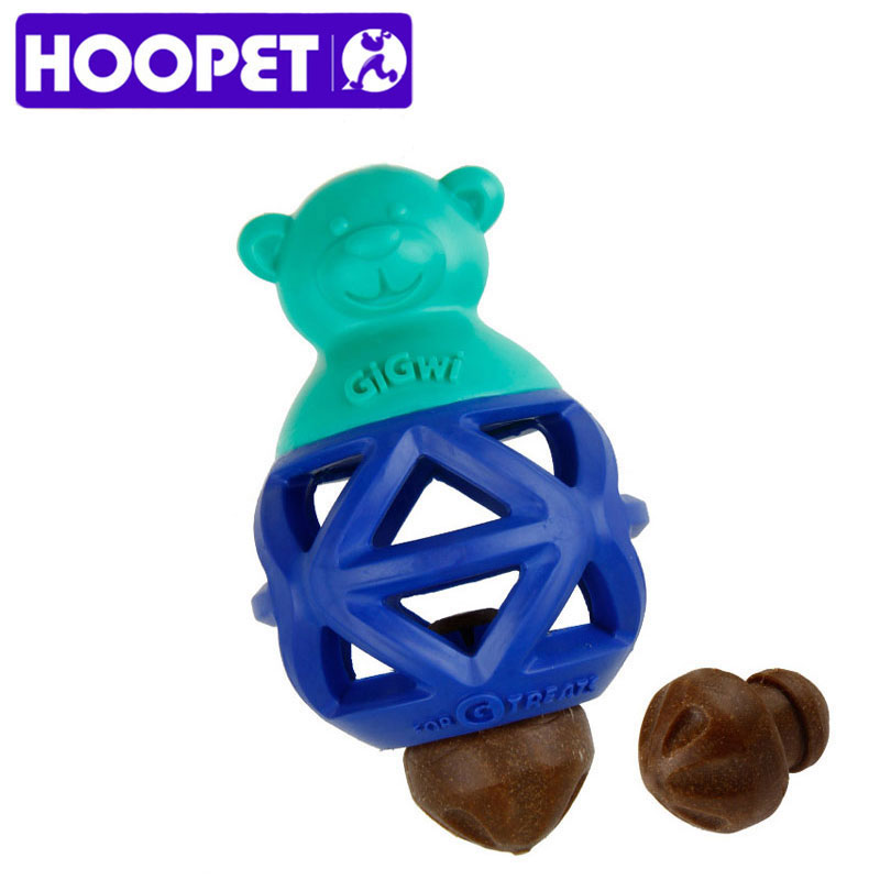 HOOPET Pet Dog Toy Funny Interactive Molar Bite Toys Rubber Chew TPR Puppy Biting Dog Supplies