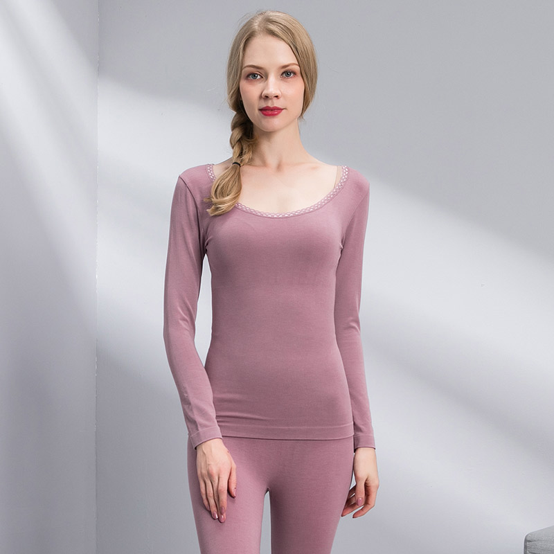 Slimming body Shaping Lingerie Thermal Underwear For Women Sexy Warm Seamless Winter Thermal Underwear Set Winter Underwear in Long Johns from Underwear Sleepwears