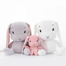 50CM 30CM sevimli tavşan peluş oyuncaklar tavşan dolması & peluş hayvan bebek oyuncakları bebek bebek eşlik uyku oyuncak hediyeler çocuklar için WJ491