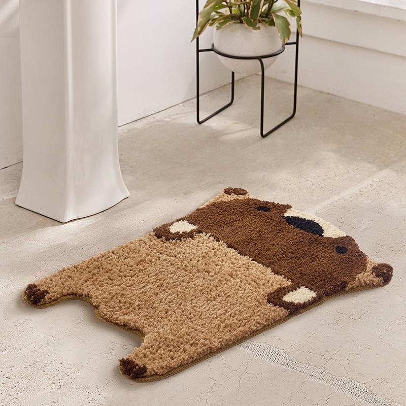 Bear Area Rugs Bathroom Rug Cute