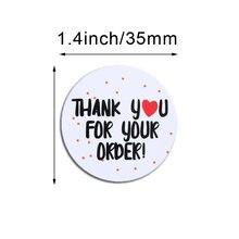 Наклейка размером 35 мм спасибо Спасибо за поддержку моего маленького