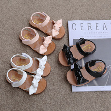 Girls Sandals Fashion Princess Classic Baby Girl Kids Summer Sandals Children Sweet Summer Shoes Soft 21-30 Hot Sale Bow-knot cheap JGSHOWKITO Cow Muscle 13-24m 25-36m 4-6y 13cm 13 5cm 14cm 14 5cm 15cm 16cm 17cm 17 5cm CN(Origin) Fashion Sandal Breathable