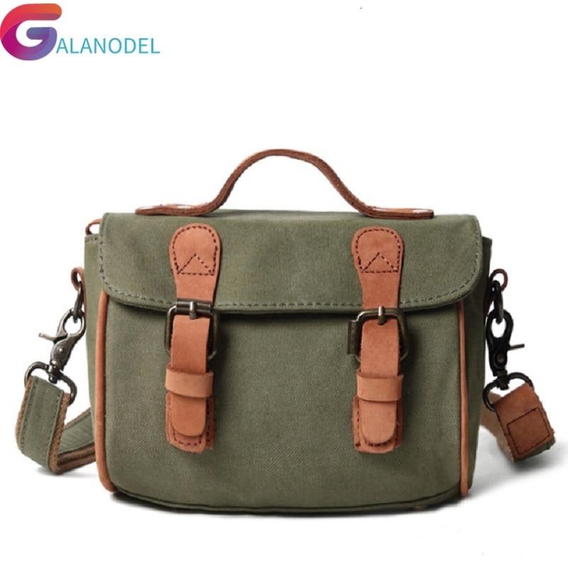 GALANODEL сумки для женщин мессенджер M330 холщовая кожа большая сумка на плечо известные дизайнерcкие бренды мужские дорожные сумки для мужчин