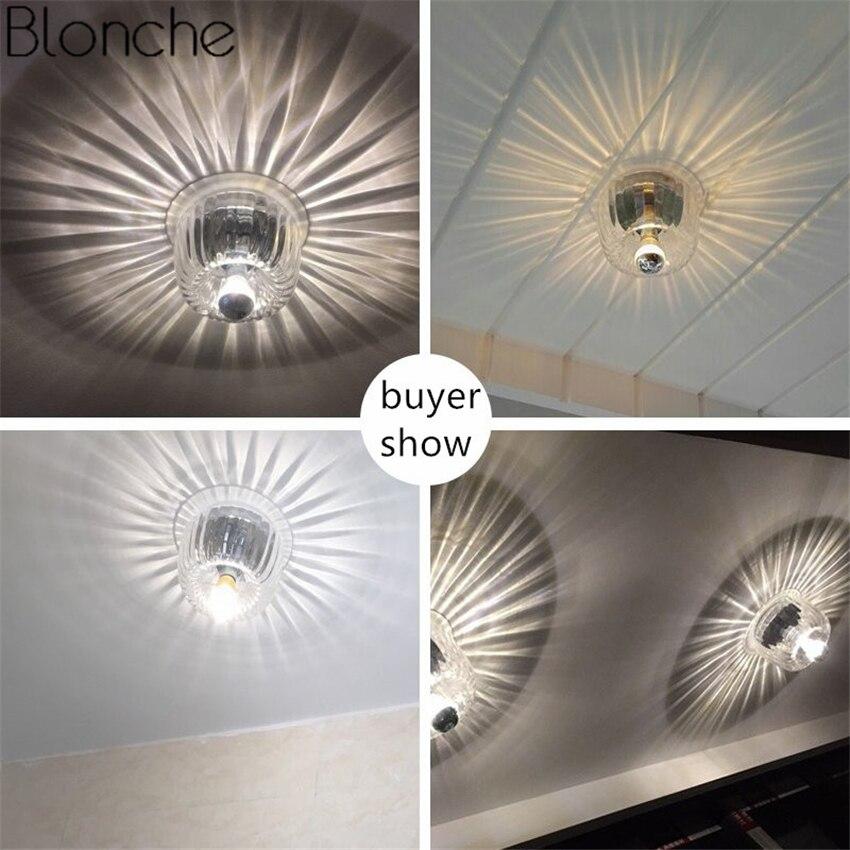 lampada do teto de vidro moderno led 04