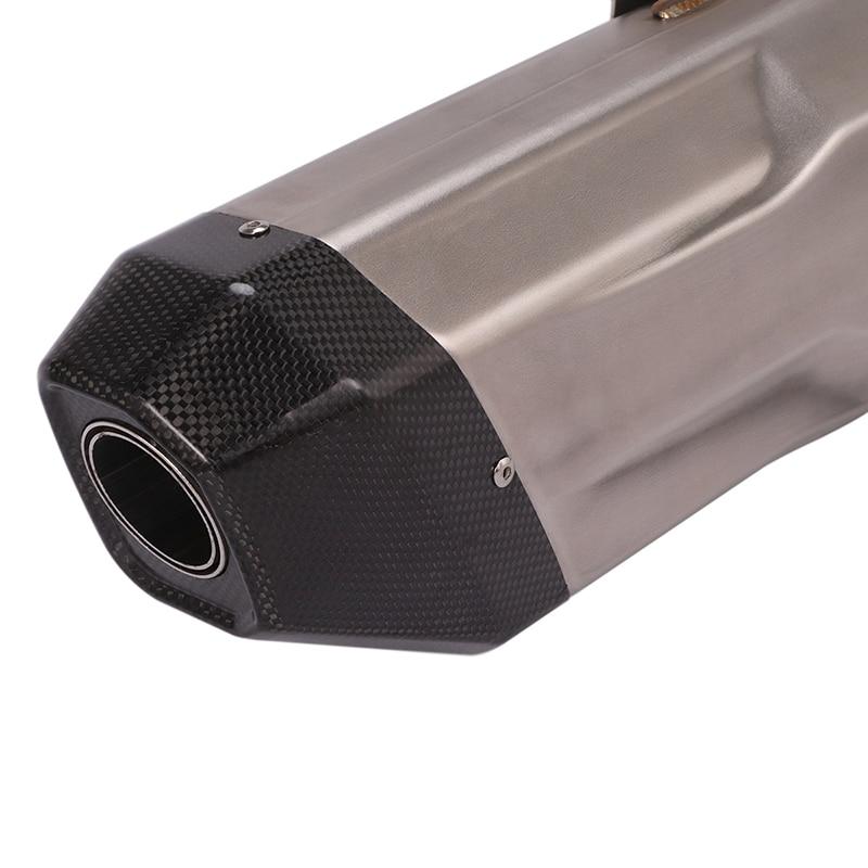 Выхлопной глушитель для мотоцикла съемная труба глушителя 38