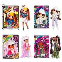 Новинка из серии «LOL Surprise» куклы аниме фигурка игрушки Omg куклы подарок для маленьких девочек переодевания кукла глухая коробка подарки на д...