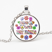 New Best Friend Necklace Bible Poetry Glass Dome Pendant Fashion Christian Jewelry Woman Man Gift Souvenir Choker