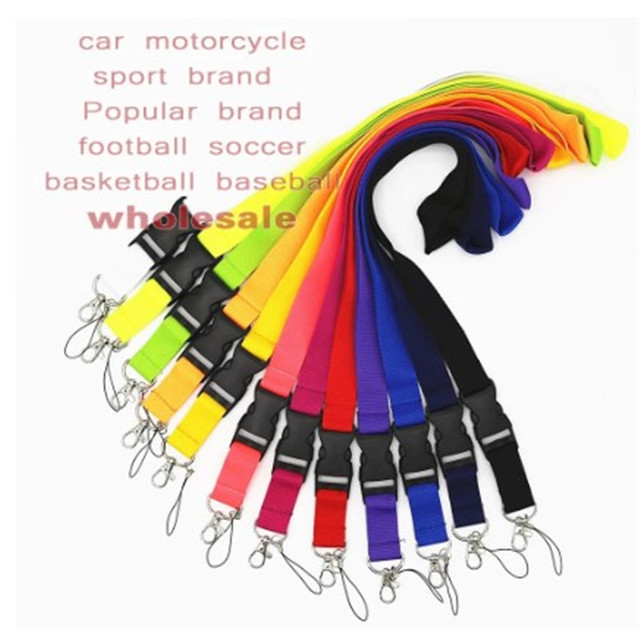 Free  shipping   500pcs car sport  neck Lanyard for ID Key chain Cell Phone, Neck Strap Lanyards ch 58