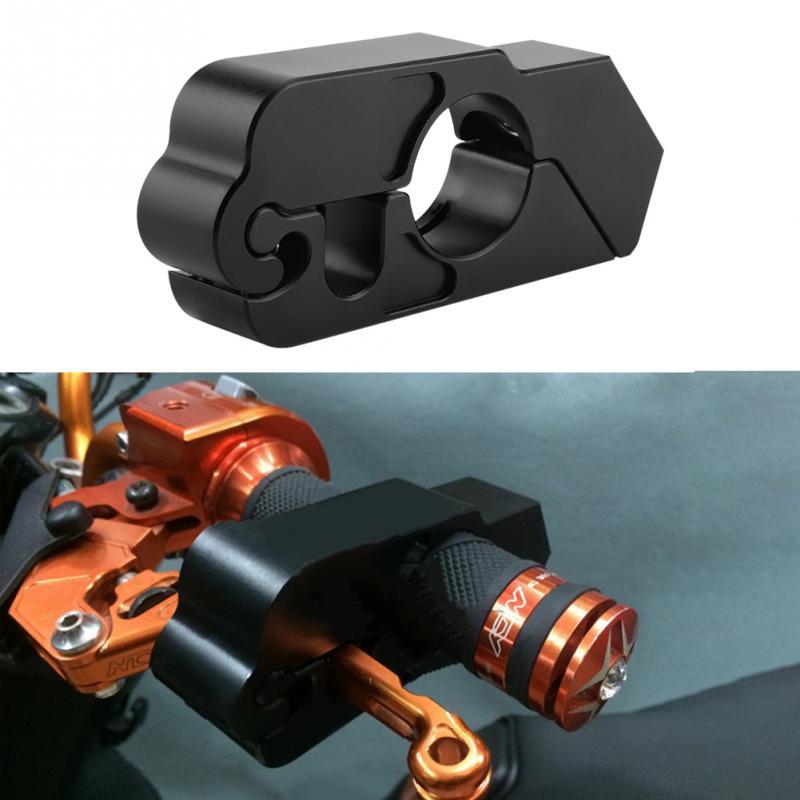 2018 New CNC Aluminium Alloy Motorcycle Handlebar Brake Lever Lock Vehicle Security Grip Lock Motorcycle Accessories Universal