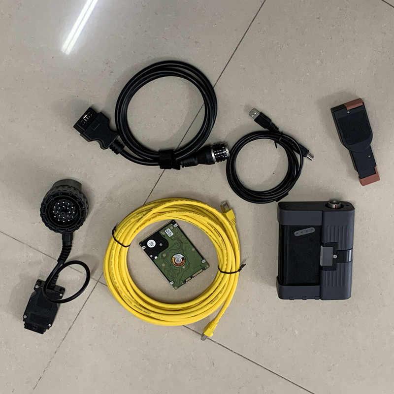 2 en 1 mb star c5 para bmw icom a2 con ordenador portátil cf19 ram 4g con modo experto de software hdd 1tb set completo de diagnóstico listo para usar
