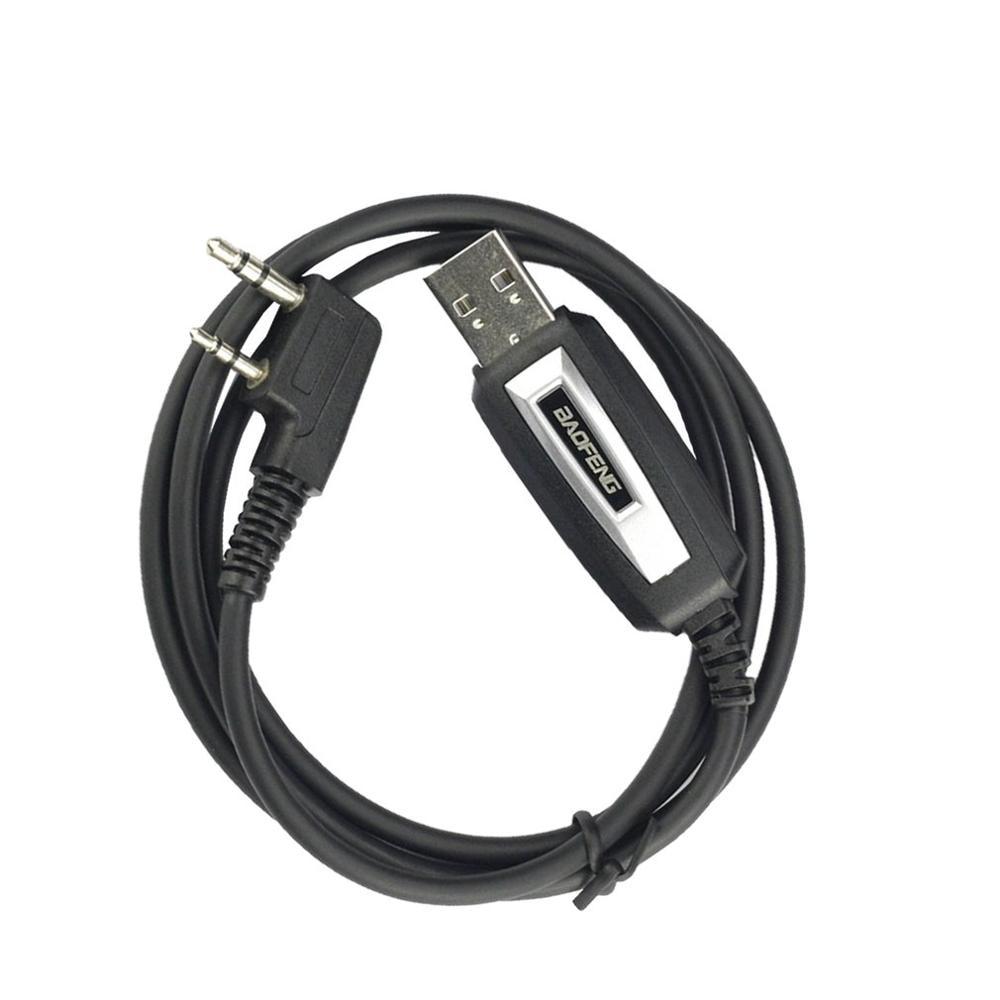 Câble de programmation USB Baofeng avec lecteur CD pour UV-5R BaoFeng BF-888S UV-82 accessoires pour talkie-walkie GT-3