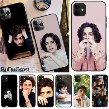 Slok Timothee Chalamet Hard Phone Case For iphone 12 pro max 11 pro XS MAX 8 7 6 6S Plus X 5S SE 2020 XR case image