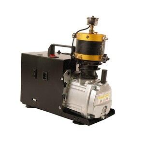 Image 4 - Compressore elettrico di arresto automatico regolabile del compressore ad alta pressione PCP di TUXING 4500Psi per il serbatoio pneumatico del fucile