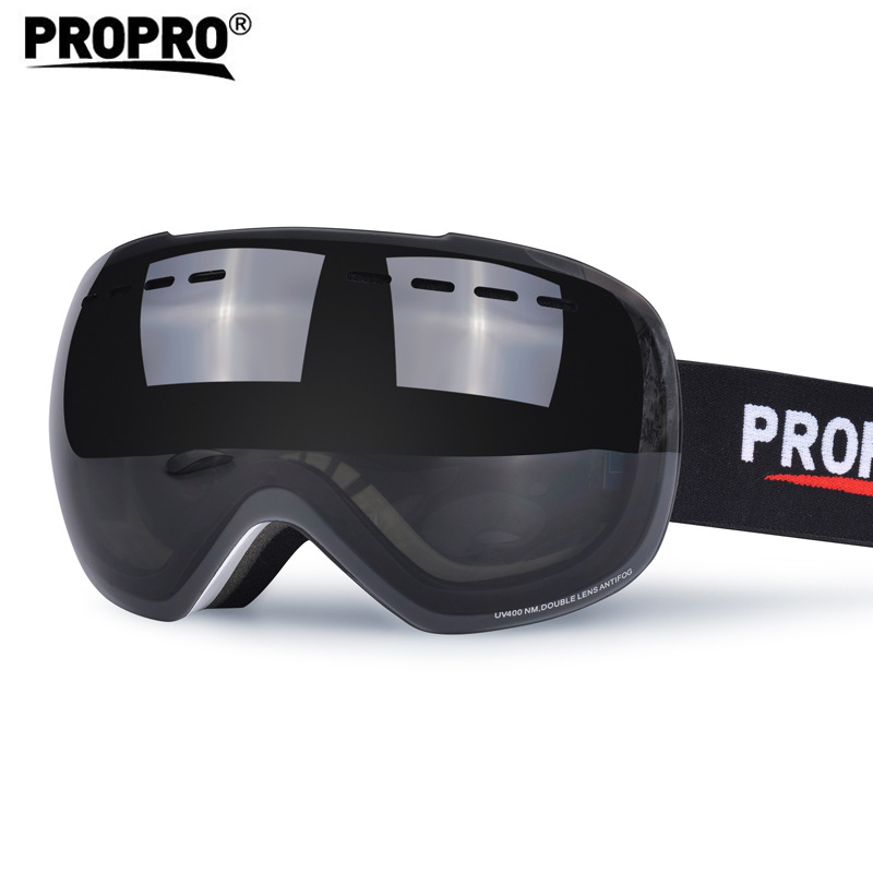 Propro Ski Goggles Eye-protection Goggles Skating Skateboard Windproof Dustproof Anti-fog Snow Goggles Adult Men And Women-