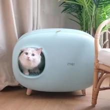 Litter-Box Pet-Supplies Poop-Tray Cat Toilet Fully-Enclosed New JOYLIVE Pet-Cat Hot-Sale
