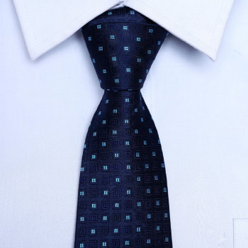 2020 classic striped and dot print men neck ties silk ties high quality